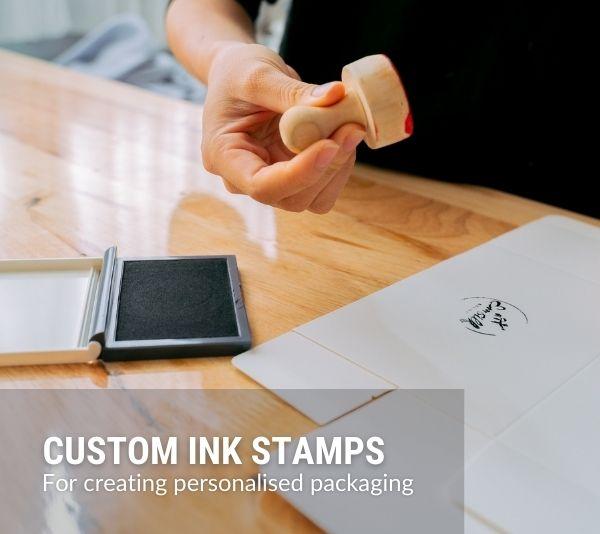 Bespoke Custom Ink Stamps Banner