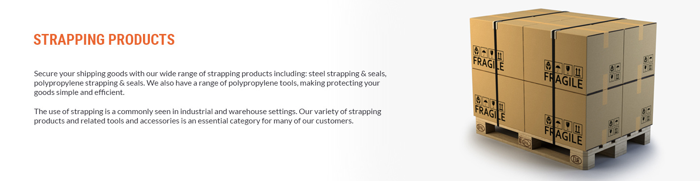 Strapping Banner Category Page