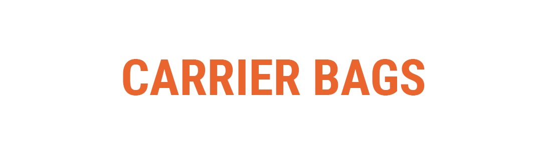 Carrier Bags Banner Category Page