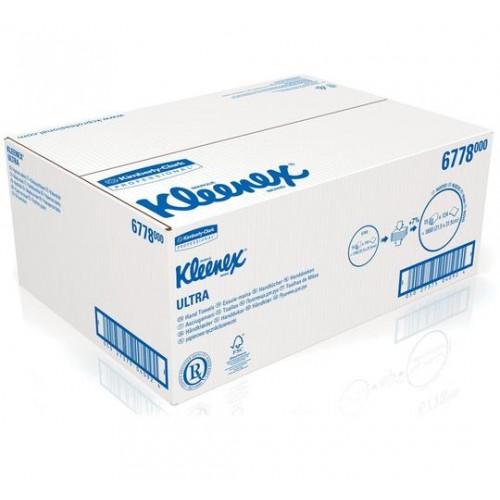 Kleenex Ultra H/Towe Ls Med Wht (15 Sleeves)