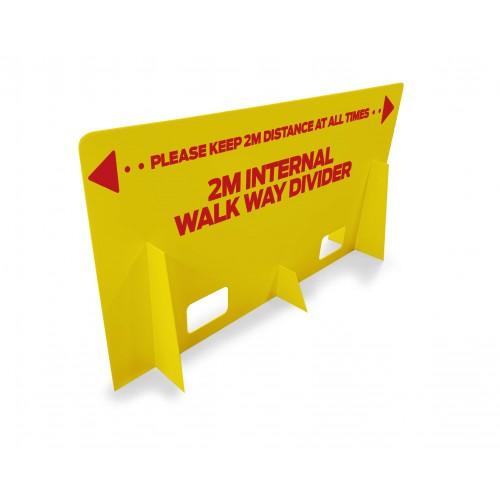 Corridor & Walkway Divider