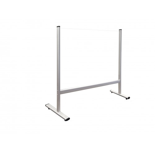 Counter and Desk Protection Screen, acrylic glass, 80 x 65 cm