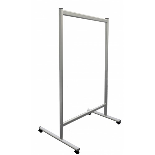 Mobile Partition Wall, Acrylic glass, 120 x 180 cm