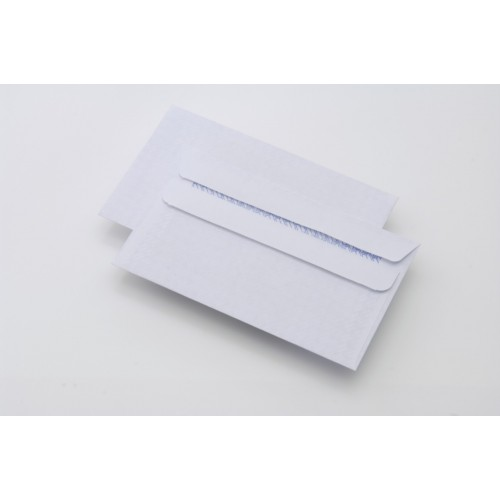 DL White PREMIUM 100gsm White Envelopes Bx1000 - Peel n Seal