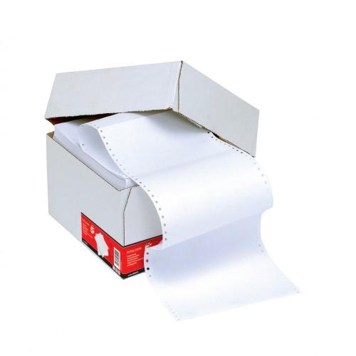 11 X 9.5 1 PT Listing Paper  60g Plain Bx2000