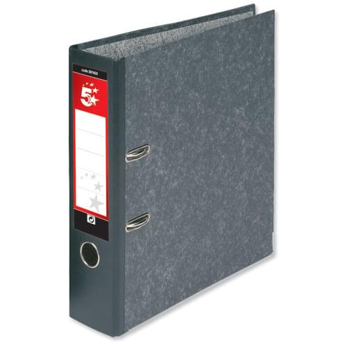 5 Star Lever Arch File A4 (each) *Delivery in Cumbria only*