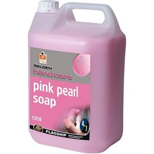 Hand Soap 5ltr Drum Pink Pearlised