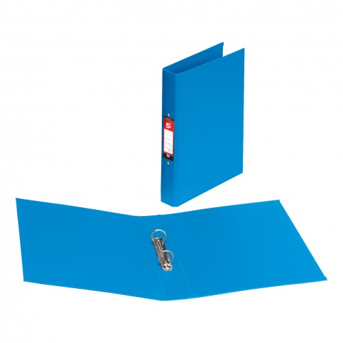 A4 PVC 2 Ring Binder BLUE (single)