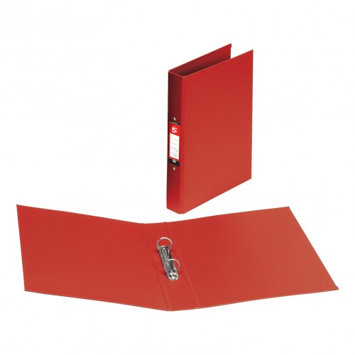 A4 PVC 2 Ring Binder RED (single)