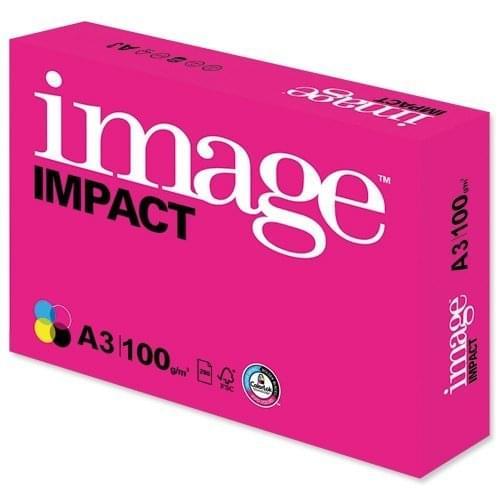 NEW Image Impact A3 Presentation Paper 100g White Pk500