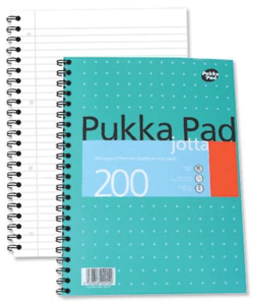 A4 PUKKA Pad JOTTA 200 Page JM018 (each)