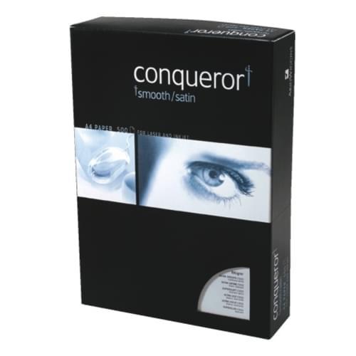 A4 Conqueror Hi-White Wove 100g Pk500