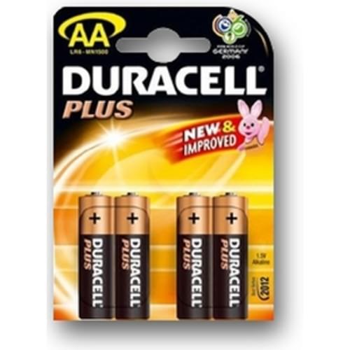 Duracell MN1500 Battery PK4 (AA)