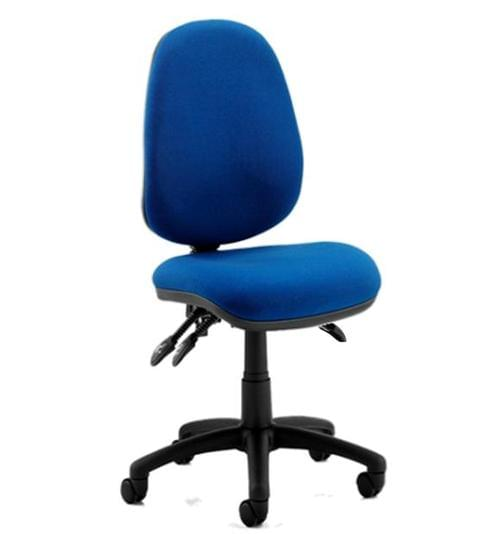 Advantage Operator Chair Blue Asynchro 3 Lever with Seat tilt - From just