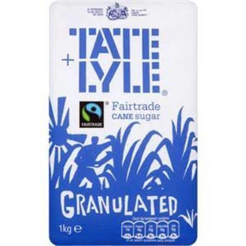 Tate & Lyle Granulated Sugar 1kg Bag *Delivery in Cumbria only*