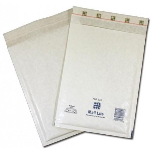 Mailite White Bubble Bags D1 175mm x 260mm Pk100