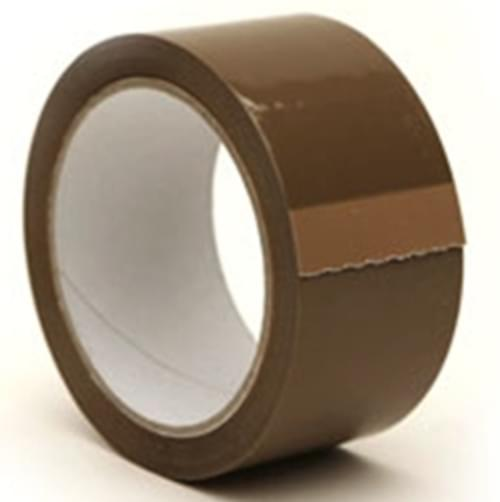 PREMIUM 50mm x  66m Silent Seal Tape BUFF