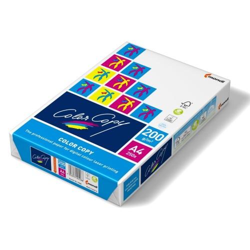 Color Copy Card Premium Super Smooth 200gsm FSC A4 White  [250 Sheets]