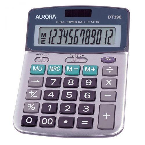 Aurora DT398 Desktop Calculator 12 Digit
