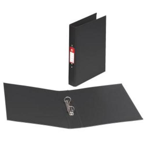 A4 PVC 2 Ring Binder BLACK (single)