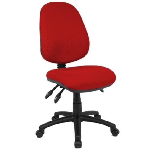 Advantage Operator Chair Burgundy Asynchro 3 Lever with Seat tilt - From just