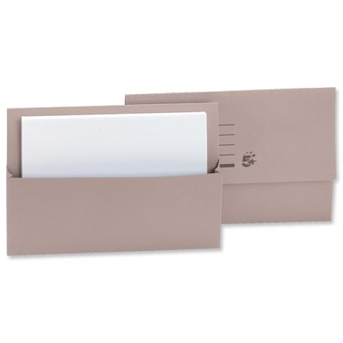 Document Wallet F-Cap Bx50 BUFF