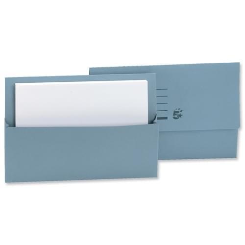 Document Wallet F-Cap Bx50 BLUE