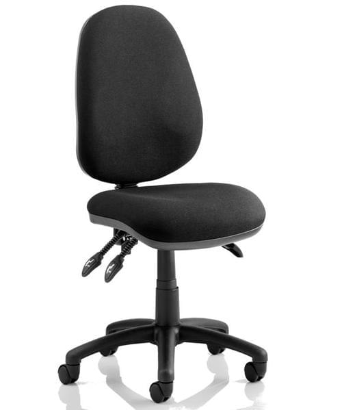 Advantage Operator Chair Black Asynchro 3 Lever with Seat tilt - From just