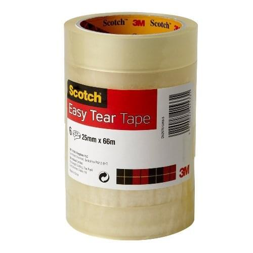 Scotch Premium 25mm x 66m Premium Clear Tape