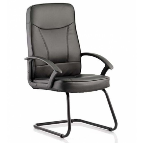 BLITZ Cantilever Visitor Chair Leather