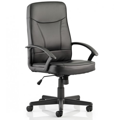 Blitz Bonded leather Chair with arms