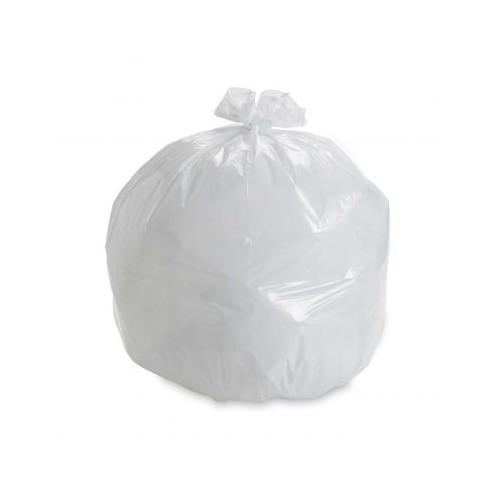 Square Bin Liner Bags White Pk1000