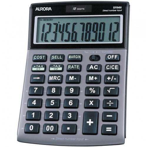 Aurora DT661 Desktop Calculator Multi-Function