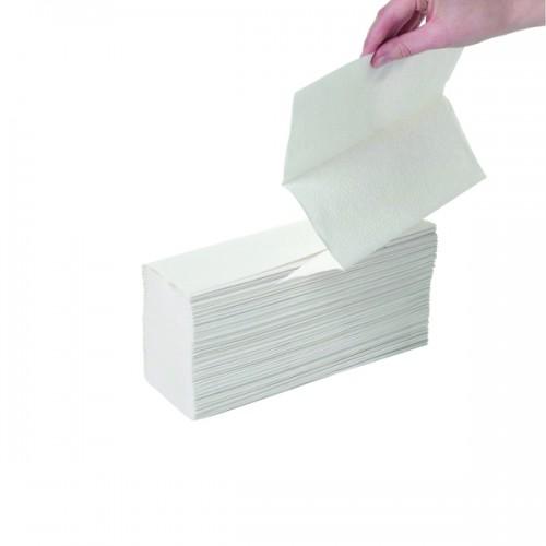 Z Fold Hand Towel White Pk3000