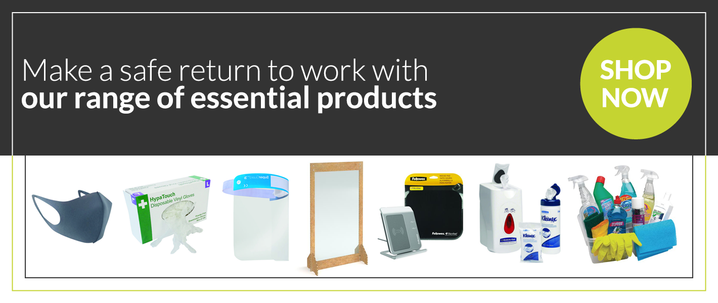 a variety of essential products