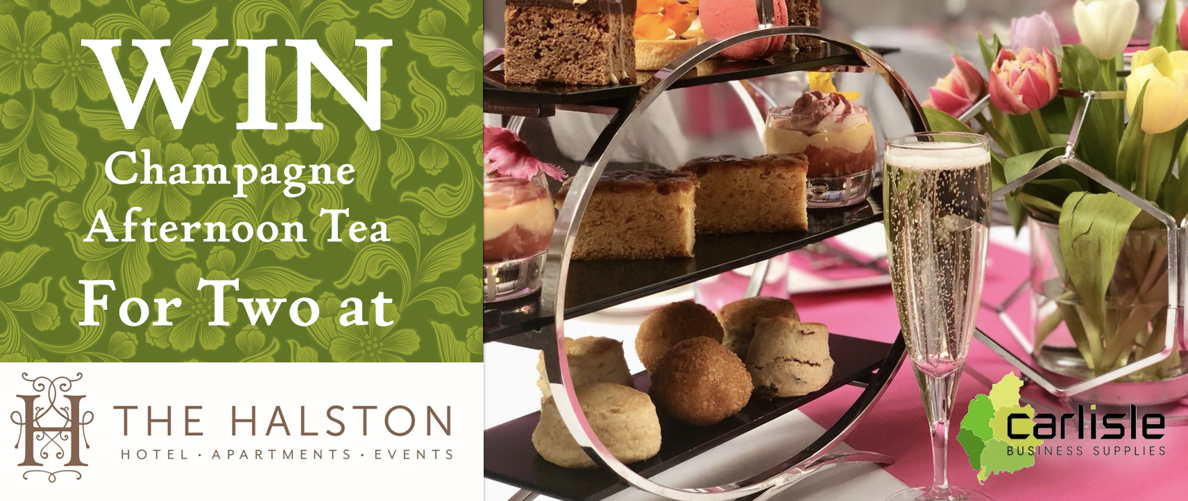 WIN Champagne Afternoon Tea for Two!