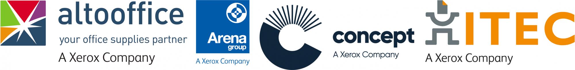 Altooffice, Arena, Concept & ITEC - Xerox Companies