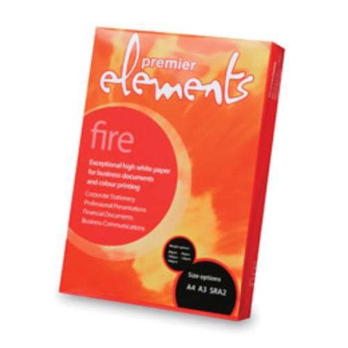 box of 1250 sheets A3 160gsm Elements Fire Card / prem