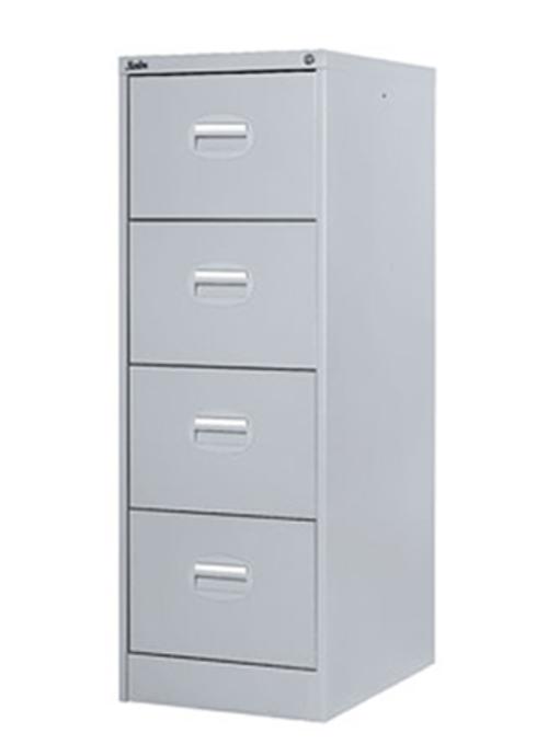4 Drawer Metal Filing Cabinet GREY