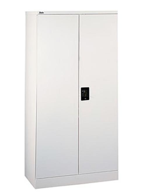 2 Door 1830mm High Metal Lockable Cupboard with 3 Height Adjustable Shelves
