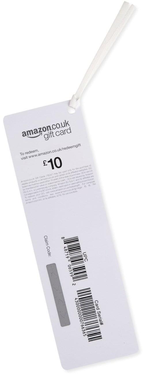 10 Amazon Gift Card
