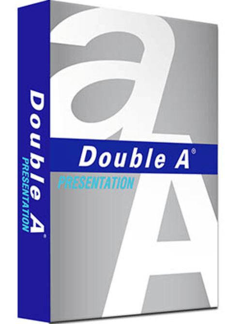 box of 5 reams A4 Double A Presentation Paper 100gsm