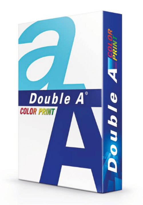 Box of 5 Reams A4 90gsm Double A Colourprint White Paper