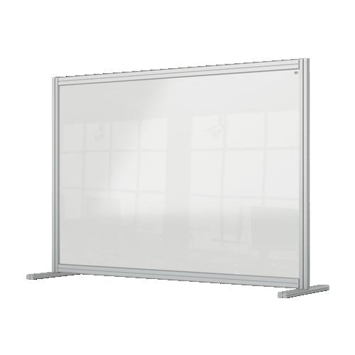Nobo Premium Plus Clear Acrylic Protective Desk Divider Screen Modular System