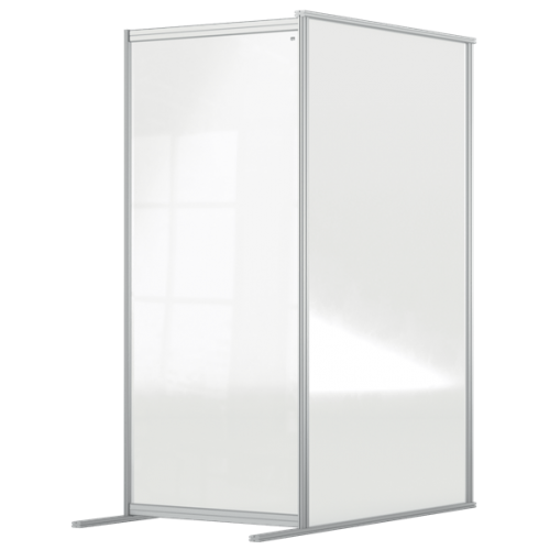Nobo Premium Plus Clear Acrylic Protective Room Divider Screen Modular System
