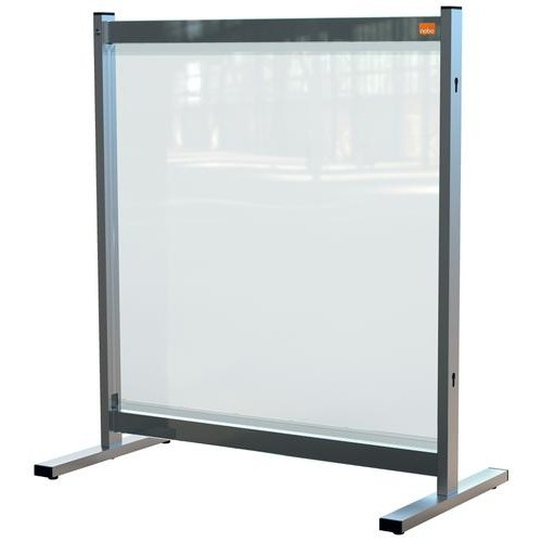 Nobo Premium Plus Clear PVC Protective Desk Divider Screen