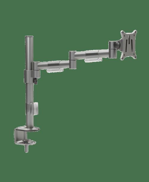 M100 Single Monitor Arm - Silver