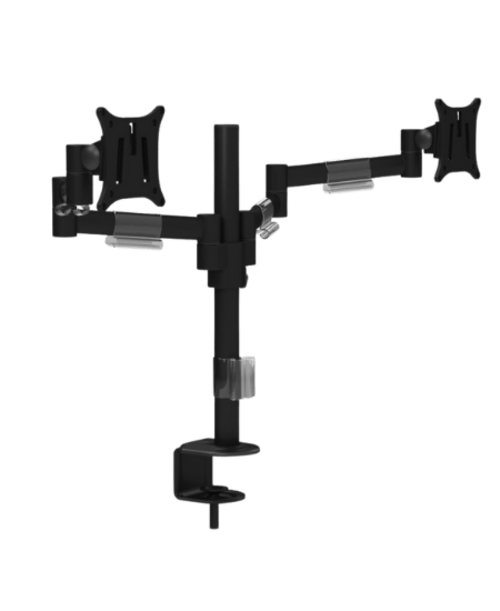 M200 Double Monitor Arms - Black
