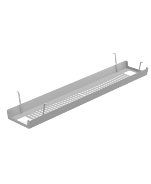 Switch Cable Basket 1200mm - Silver