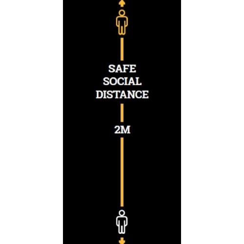 Social Distance Mat